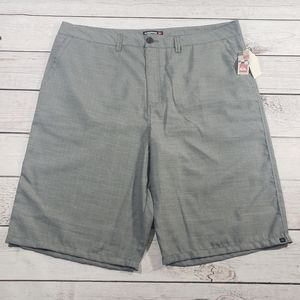 Quiksilver mens Gray shorts size 42 new with tag
